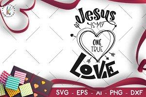 Valentine's Day svg Jesus