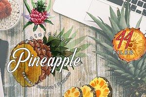 Pineapple Watercolor png