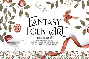 Fantasy Folk ART(design collection)