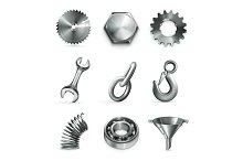 Industrial iron vector illustration