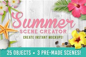 Summer Mockup Creator