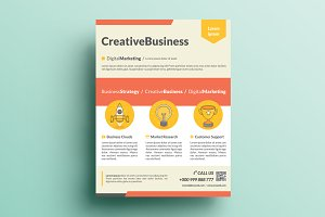 Creative Corporate Flyer V16