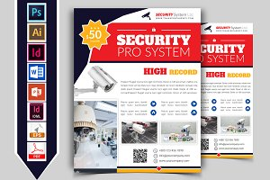 Security System Flyer Vol-03