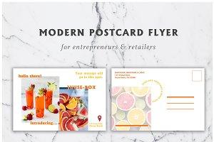 Modern Postcard Flyer Template