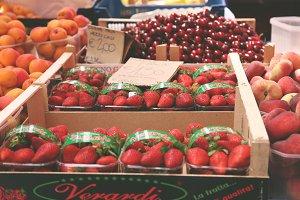 Berries in the Market