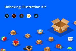 Unboxing Illustration Kit