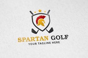 Spartan Golf - Logo Template