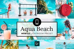 Mobile Lightroom Preset Aqua Beach
