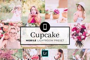 Mobile Lightroom Preset Cupcake