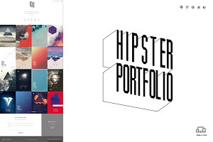 Hipster Portfolio - One Page HTML