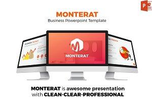 Monterat Powerpoint Template