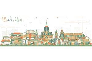 Bien Hoa Vietnam City Skyline