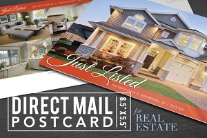 Real Estate Postcard with Options