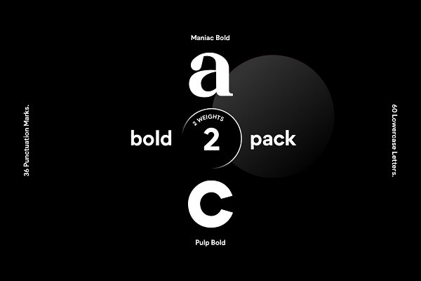 Fonts: The Fabriek - 2019 Bold Bundle