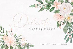 Delicate Wedding Florals