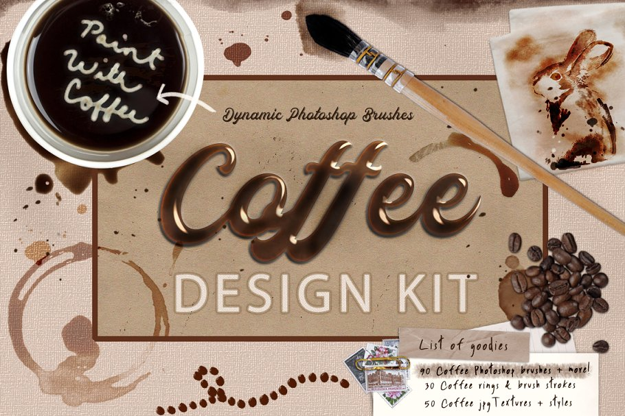 Paint With Coffee Design Bundle