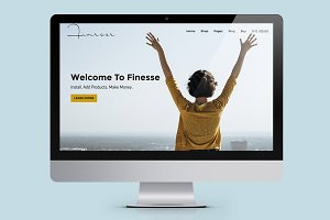 Finesse WooCommerce WordPress Theme