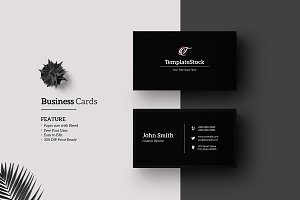 Minimal Business Card V22