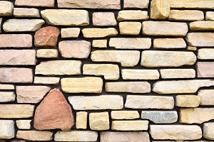 Ancient stone wall to use as backgro