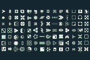 retro 80s Sci-Fi Icons