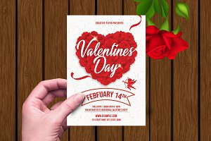 Valentine's Day Party Flyer V01