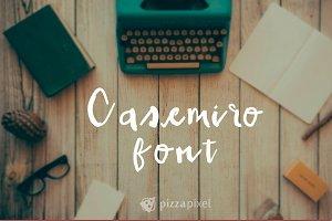 Casemiro Handmade Font (SALE)