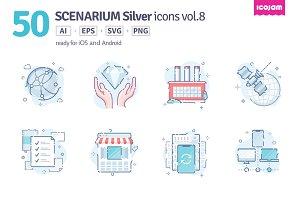 Scenarium Silver icons vol.8