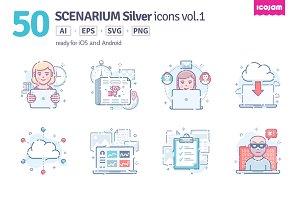 Scenarium Silver icons vol.1