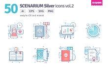 Scenarium Silver icons vol.2