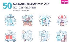 Scenarium Silver icons vol.3