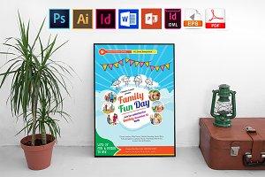 Poster | Family Fun Day Vol-01