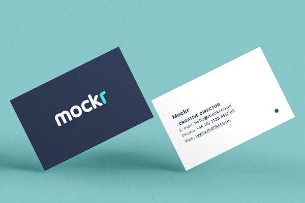 Realistic Business Card Mockup Psd Psd Mockup Download And Free
