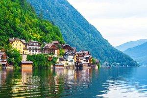 Famous Hallstatt village