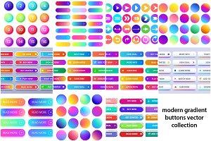 Web Gradient Buttons