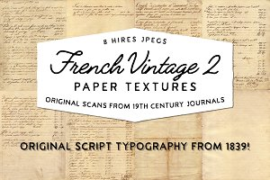 French Vintage 2 - Paper textures