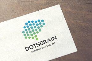 Dots Brain Logo