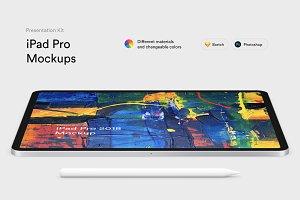 iPad Pro Mockups (2018) | PK