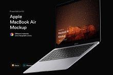 MacBook Air Mockups (2018) | PK