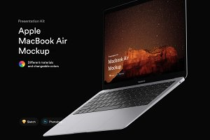 MacBook Air Mockups (2018) | PK