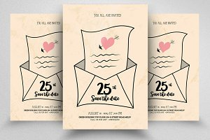 Save The Date Love Card Templates