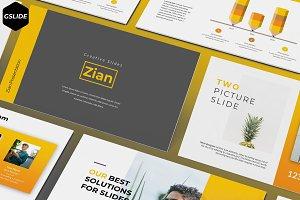 Zian - Google Slide Template