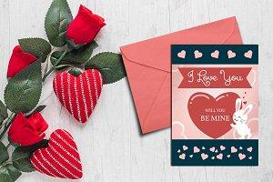 Valentine's Day Card V-01
