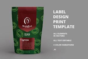 Print Template Design