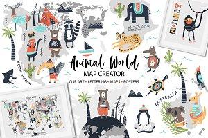 Animal World - Map Creator