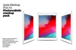 Apple iPad Air Mockups