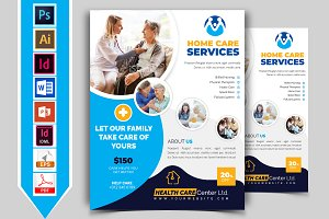 Home Care Flyer Template Vol-02