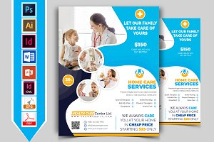 Home Care Flyer Template Vol-03