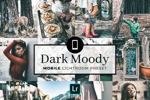 Mobile Lightroom Preset Dark Moody