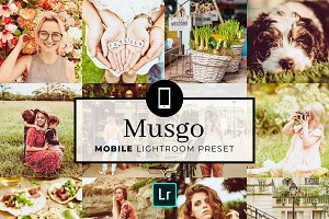 Mobile Lightroom Preset Musgo