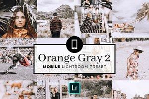 Mobile Lightroom Preset OrangeGray2